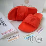 Versace Palazzo Medusa Slippers Red | Shoes for sale in Lagos State, Ojo