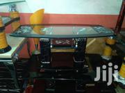 Tampered Glass Center Table With Two Side Stool | Furniture for sale in Lagos State, Ojo