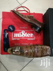 Spanish Brands Hand Made Mister Shoes With Brown Design | Shoes for sale in Lagos State, Lagos Island