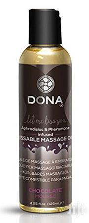 System Jo Dona Kissable Massage Oil Chocolate 125 Ml | Sexual Wellness for sale in Lagos State, Surulere