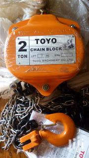 Toyo Chain Block 2ton | Manufacturing Equipment for sale in Lagos State, Lagos Island