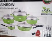 Italian Rainbow 20pcs Classic Cookware Set | Kitchen & Dining for sale in Abuja (FCT) State, Utako