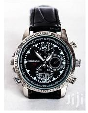 Leather Spy Camera Watch | Security & Surveillance for sale in Lagos State, Ikeja