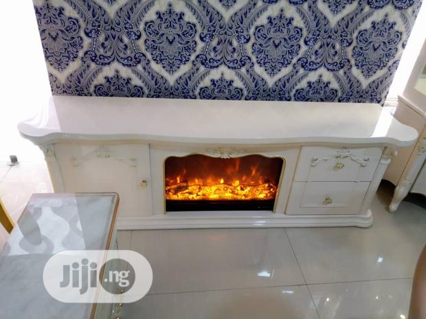 TV Stand Fire Place