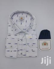 White Pattern 100% Cotton Turkey Shirts By Levi Gardin | Clothing for sale in Lagos State, Lagos Island