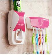 Toothpaste Dispenser And Brush Holder | Home Accessories for sale in Lagos State, Ikeja