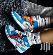 Nike Air Jordan Off White UNC Blue Sneakers | Shoes for sale in Lagos State