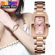 SKMEI Fashion Waterproof Watch Best Simple Elegant Wristwatches 1400   Watches for sale in Lagos State, Ikeja