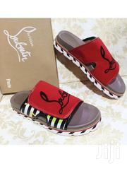 Louboutin Velcro Strap Slide | Shoes for sale in Lagos State
