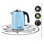 Russell Hobbs Colours Plus Heavenly Blue Kettle | Kitchen Appliances for sale in Lagos State, Lekki Phase 2