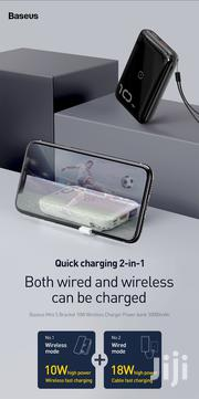 BASEUS 2 In 110W Wireless Fast Charging 10000mah 18W Wired Power Bank | Accessories for Mobile Phones & Tablets for sale in Lagos State, Ikeja