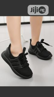 Unisex Black Sneakers For Kids For Both School And Parties   Children's Shoes for sale in Lagos State, Egbe Idimu