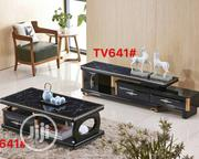 Marble Home Theater TV Stand With Centre Table   Furniture for sale in Lagos State, Victoria Island