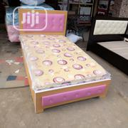 (3 and '/2 by 6ft) Pinging Bedframe With Quality Mattress | Furniture for sale in Lagos State, Ojo