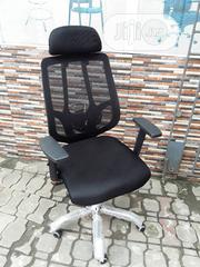 Original Black Office Net Chair | Furniture for sale in Lagos State, Lekki Phase 1