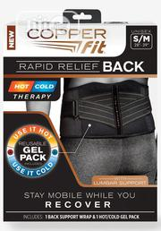 Copper Fit Rapid Relief Back Support Brace With Hot Cold Therapy | Tools & Accessories for sale in Lagos State, Lagos Island