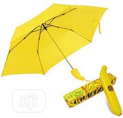 Banana Folding Yellow Umbrella UV Protection For Outdoor /QUANTITY   Clothing Accessories for sale in Lagos State, Victoria Island