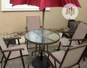 Outdoor Table and Chairs With Umbrella | Garden for sale in Lagos State, Ikeja