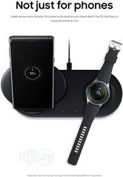 Samsung Wireless Charger Duo Fast Charge   Accessories for Mobile Phones & Tablets for sale in Lagos State, Ikeja