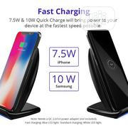 Tronsmart Tronsmart WC05 7.5W Dual Coil Wireless Charging Stand   Accessories for Mobile Phones & Tablets for sale in Lagos State, Oshodi-Isolo