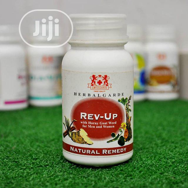 Swissgarde Rev-up - Boost Vitality And Vigour In Both Men And Women