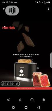 Rite_tek 2slice Pop Up Toaster Model: TP_220 | Kitchen Appliances for sale in Abuja (FCT) State, Wuse