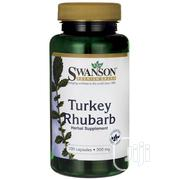 Swanson Turkey Rhubarb 500mg - 100 Capsules   Vitamins & Supplements for sale in Lagos State, Lekki Phase 1