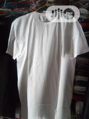 White Plain Tshirts (100% Cotton) | Clothing for sale in Lagos State, Surulere