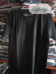 100% Plain Black Cotton Club T-shirts | Clothing for sale in Lagos State, Surulere