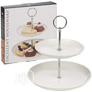 Ceramic Cake Stand, Ceramic, 2 Storage Compartments | Kitchen & Dining for sale in Lagos State, Lekki Phase 2