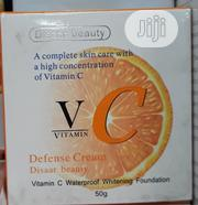 Disaar Beauty Defense Cream Vitamin C Whitening Face Cream | Vitamins & Supplements for sale in Lagos State
