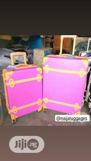 Pink Trunk Luggage | Bags for sale in Lagos State, Lagos Island