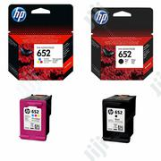 HP 652 Black And Tri Color Original Ink Advantage Cartridge | Accessories & Supplies for Electronics for sale in Abuja (FCT) State, Wuse 2