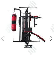 American Fitness 3 Station All in 1 Heavy Duty Punching Bag Stand | Sports Equipment for sale in Niger State, Bida