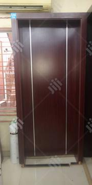 Solid HDF Door With Frame | Doors for sale in Lagos State, Mushin