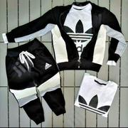 Unisex Adidas Track Suit | Children's Clothing for sale in Rivers State, Port-Harcourt