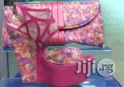 Platform Italian Shoe And Bag Set | Shoes for sale in Lagos State, Lekki Phase 1