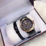 Exclusive Chronograph Working Versace Wristwatch With Classic Bracelet | Jewelry for sale in Lagos State, Lagos Island