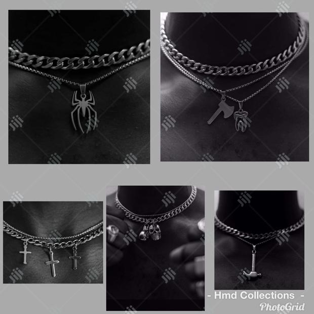 Exclusive Chains and Axe Pendant