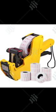 Price Tag Machine & 10 Rolls Of Paper | Manufacturing Equipment for sale in Lagos State, Ikeja
