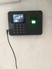 Battery Built-in Biometric Fingerprint Employee Clock Attendance Clock | Computer Accessories  for sale in Lagos State, Ikeja