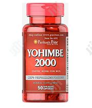 Puritans Pride Yohimbe 2000 Mg To Boost Low Libido | Sexual Wellness for sale in Lagos State, Ikeja