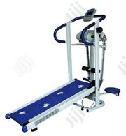 Brand New Imported Manual Treadmill With Waist Twister and Massager | Sports Equipment for sale in Rivers State, Khana