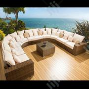 Exquisite Outdoor Rattan Corner Sofa Set   Manufacturing Services for sale in Lagos State, Ikeja
