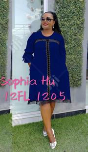 Female Blue Short Gown | Clothing for sale in Lagos State, Lagos Island