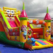 Minions Giant Bouncing Castle Slide With 2hp Blower For Sale | Toys for sale in Lagos State