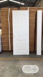 White Wooden Door With Frame And Keys | Doors for sale in Lagos State, Orile