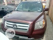 Honda Pilot 2007 EX-L 4x4 (3.5L 6cyl 5A) Red   Cars for sale in Lagos State, Isolo