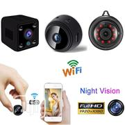 Spy Camera Wireless Wifi IP Home Security HD 1080P DVR Night Vision   Security & Surveillance for sale in Lagos State, Ikeja