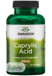 Swanson Caprylic Acid 600mg - 60 Softgels   Vitamins & Supplements for sale in Lagos State, Lekki Phase 1